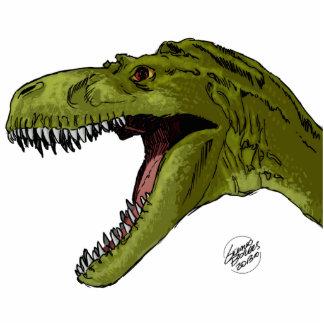 Roaring T-Rex Dinosaur by Geraldo Borges Statuette