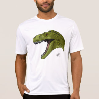 Roaring T-Rex Dinosaur by Geraldo Borges T Shirt