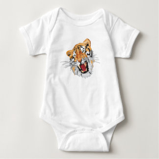 Roaring Tiger Baby Bodysuit