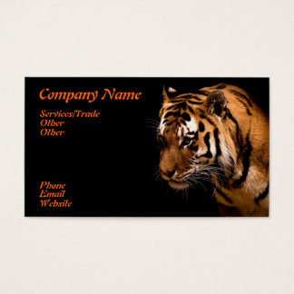 Roaring Tiger Business Card
