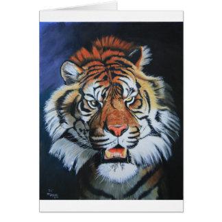 Roaring Tiger Card