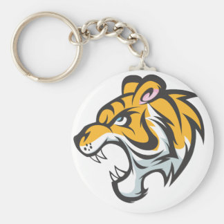 Roaring Tiger Keychain