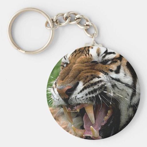 Roaring Tiger Keychains