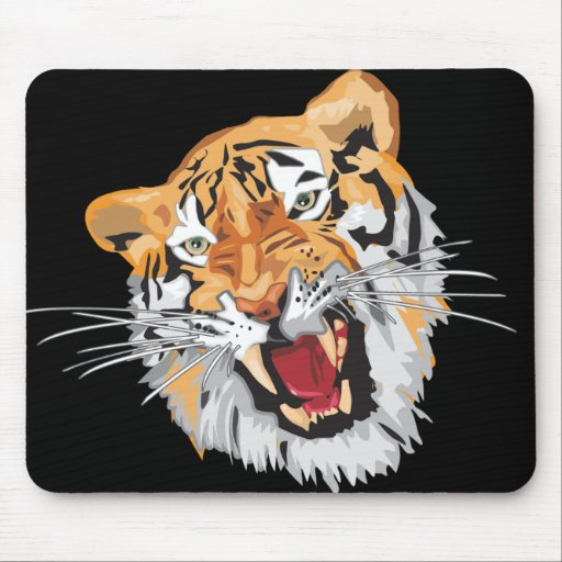 Roaring Tiger Mouse Pads