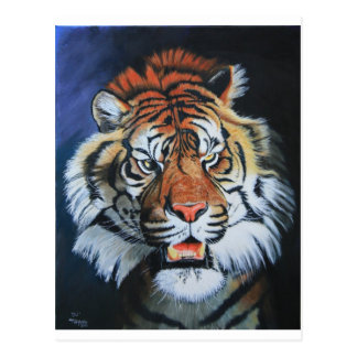 Roaring Tiger Postcard