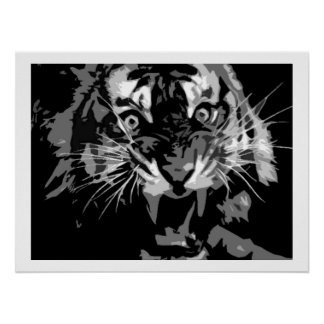 Roaring Tiger Poster