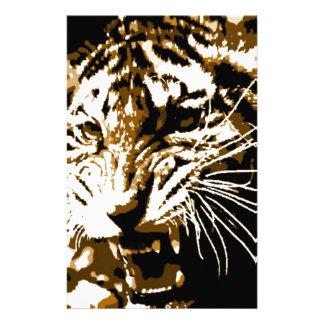 Roaring Tiger Custom Stationery