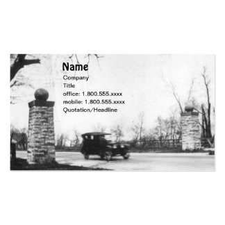 Roaring Twenties Antique Automobile Business Cards