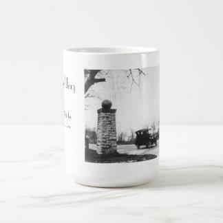 Roaring Twenties Black and White Wedding Coffee Mug