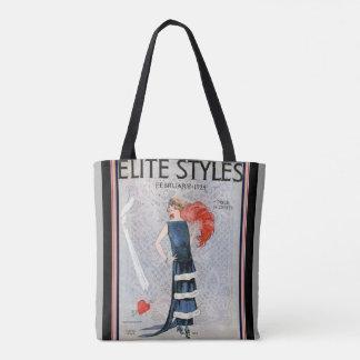 Roaring Twenties Deco Elite Styles Tote
