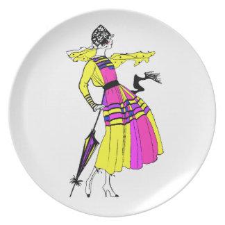 roaring twenties fashion plate