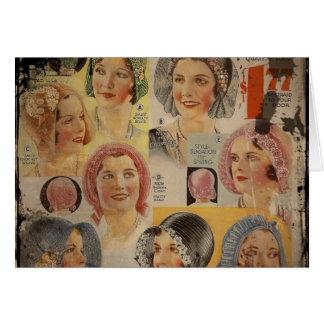 Roaring Twenties Hat Advertisement Card