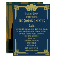 Roaring Twenties Invitation