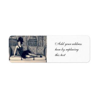 Roaring Twenties Custom Return Address Label