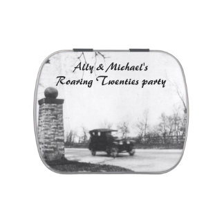 Roaring Twenties Party Favors Jelly Belly Tin