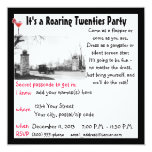 Roaring Twenties  Party Invites