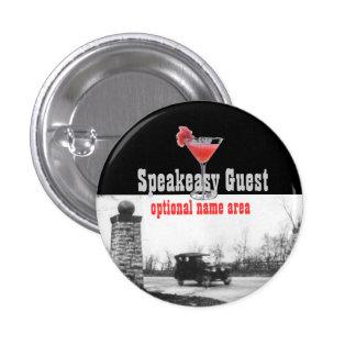 Roaring Twenties Party Souvenir Pinback Button