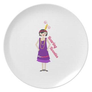 Roaring Twenties Party Plates