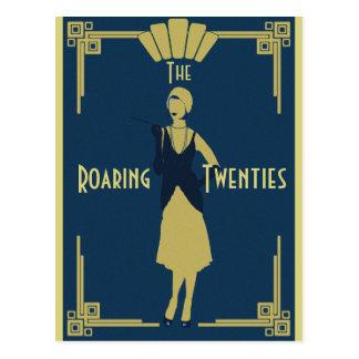 Roaring Twenties Postcard