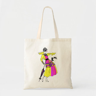 roaring twenties style tote bag