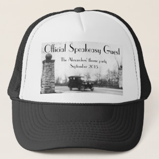 Roaring Twenties Theme Party Trucker Hat