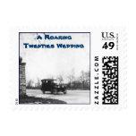 Roaring Twenties wedding Invite Stamp
