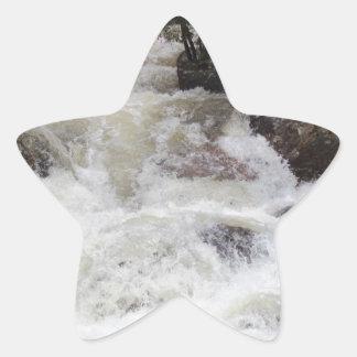 Roaring Water in the Rocky's Star Sticker