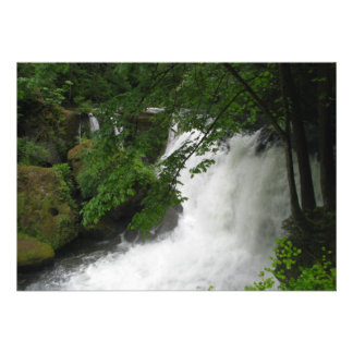 Roaring Waterfall Personalized Announcement