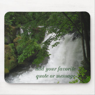 Roaring Waterfall Mouse Pad