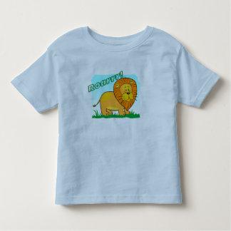 ¡Roarrr! Camiseta de los niños del león