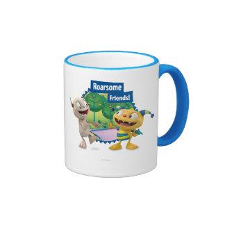 Roarsome Friends! Ringer Mug