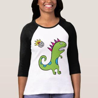 Roary the T-Rex - Ladies 3/4 Sleeve T-Shirt