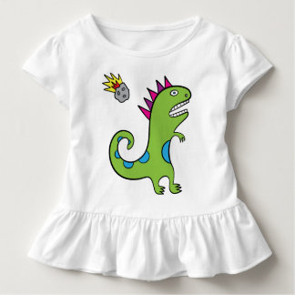 Roary the T-Rex - Toddler Ruffle Tee