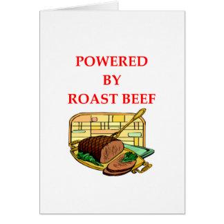 ROAST BEEF CARD