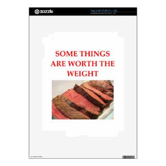roast beef skin for the iPad 2