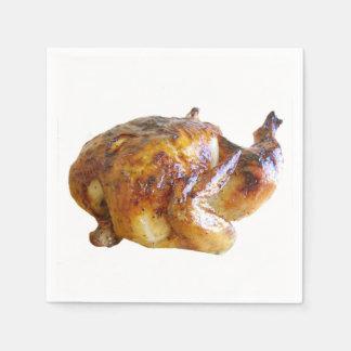 """""""Roast Chicken"""" design paper napkins"""