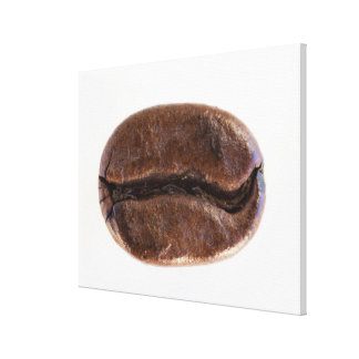 Roast coffee bean, studio shot stretched canvas prints