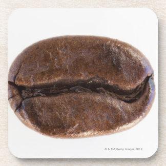 Roast coffee bean, studio shot coaster