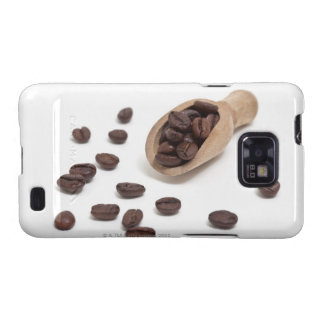 roast coffee beans with scoop galaxy s2 covers