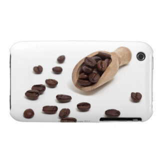 roast coffee beans with scoop iPhone 3 case