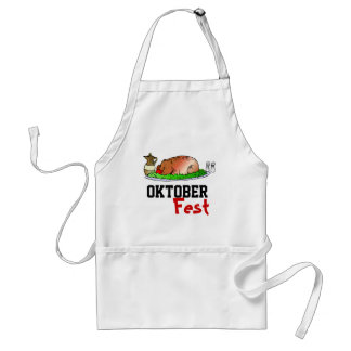 Roast pig  Oktoberfest Apron