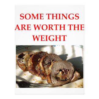 roast pork letterhead