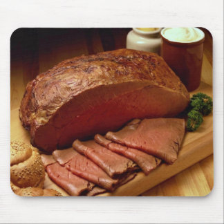 Roasted beef for food lovers mouse pad
