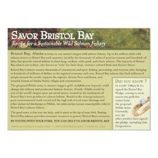 Roasted Bristol Bay Salmon Recipe Card