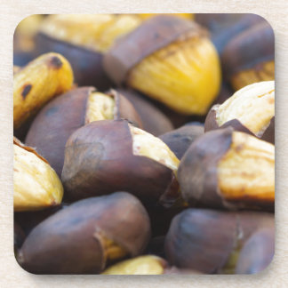 roasted chestnuts drink coasters