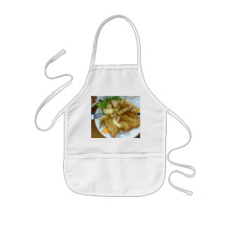 Roasted Chicken Breasts With Fried Potatoes Kids' Apron