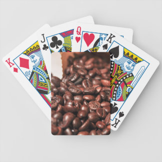 Roasted-coffee-bag1960 COFFEE BEANS GOOD MORNING H Bicycle Playing Cards