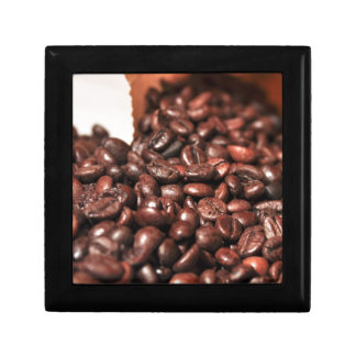 Roasted-coffee-bag1960 COFFEE BEANS GOOD MORNING H Jewelry Box