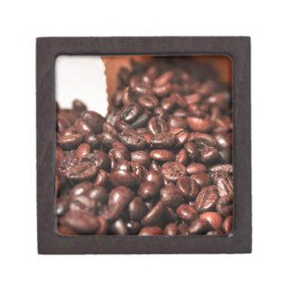 Roasted-coffee-bag1960 COFFEE BEANS GOOD MORNING H Premium Trinket Boxes