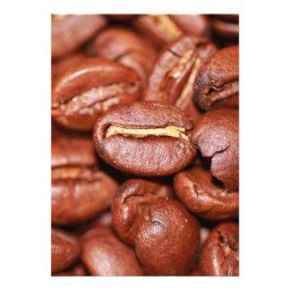 Roasted Coffee Beans Custom Invites